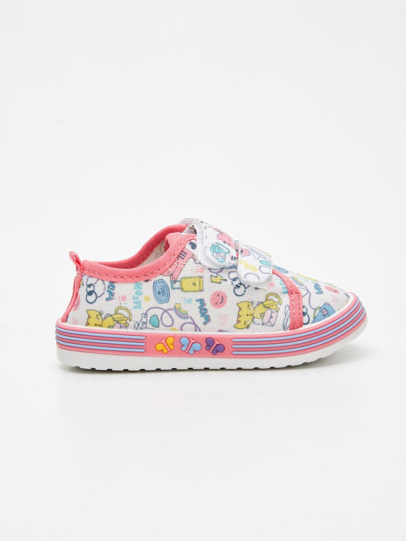 Kız Bebek Kız Bebek Baskılı Spor Ayakkabı