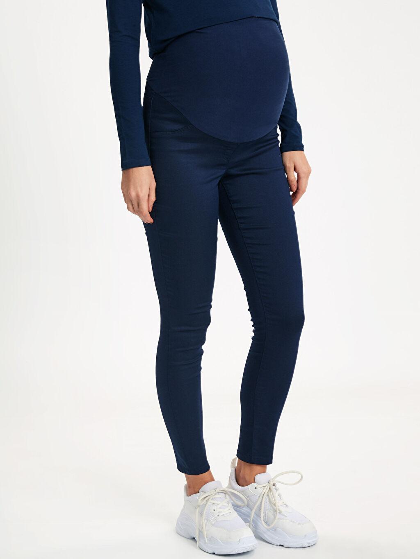 %66 Pamuk %30 Polyester %4 Elastan Skinny Hamile Pantolon