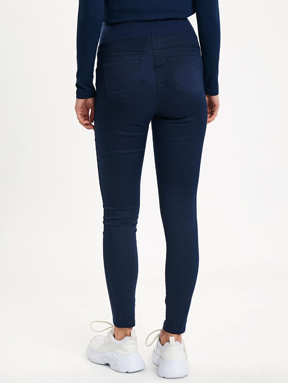 Lacivert Skinny Hamile Pantolon