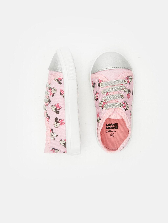 Pembe Kız Bebek Minnie Mouse Baskılı Ayakkabı 9S6401Z1 LC Waikiki