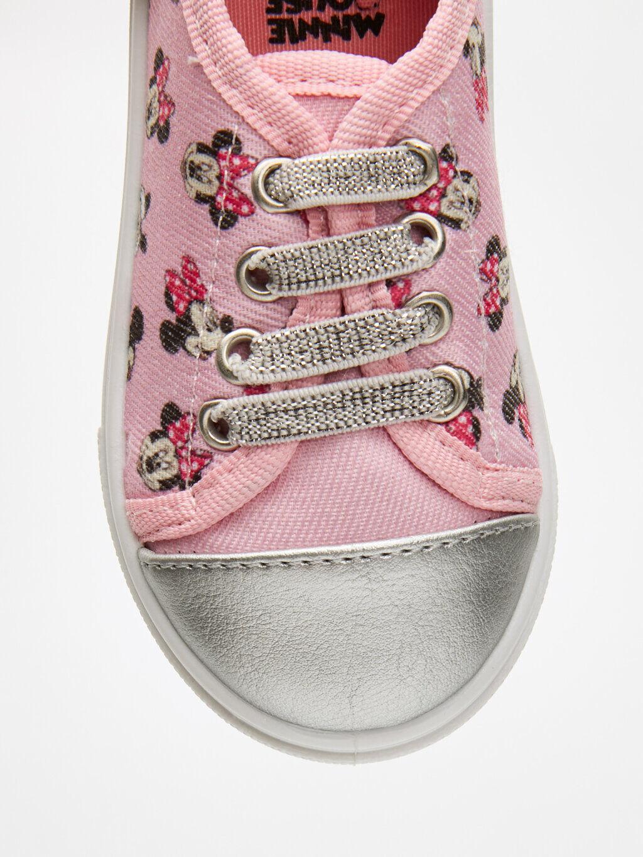 9S6401Z1 Kız Bebek Minnie Mouse Baskılı Ayakkabı