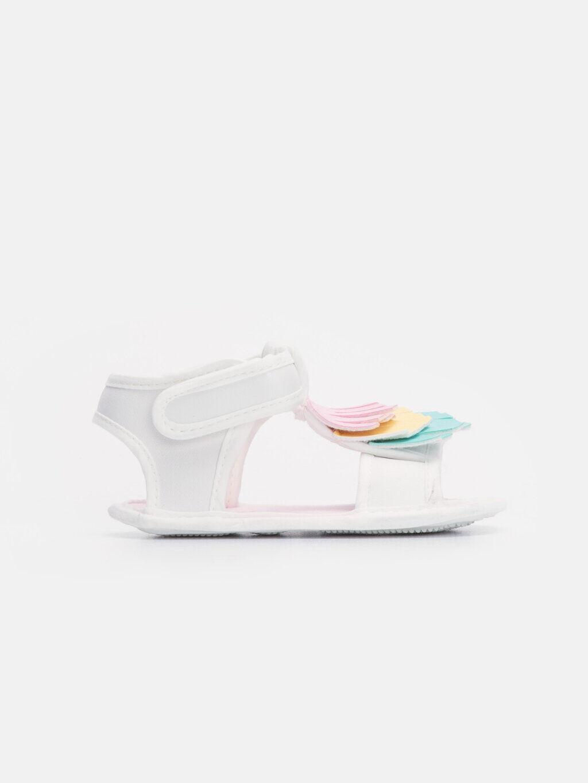 Kız Bebek Kız Bebek Cırt Cırtlı Sandalet