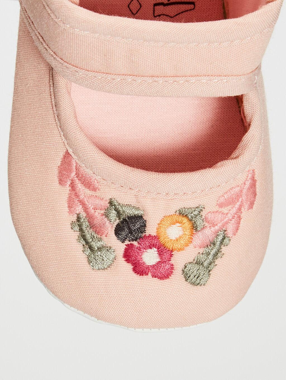 0S3045Z1 Kız Bebek Pamuk Astarlı Yürüme Öncesi Ayakkabı