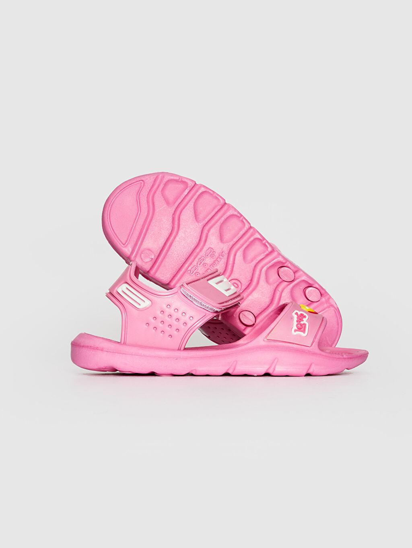 Kız Çocuk Cırt Cırtlı Sandalet
