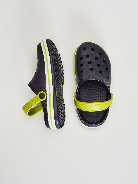 Diğer malzeme (eva) Işıksız Sandalet Tokalı Erkek Çocuk Sandalet
