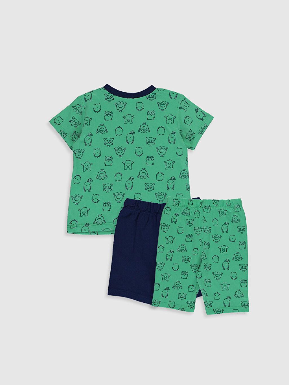 %100 Pamuk %100 Pamuk %100 Pamuk Süprem Standart Pijama Takım %100 Pamuk Erkek Bebek Baskılı Pamuklu Pijama Takımı 3'lü