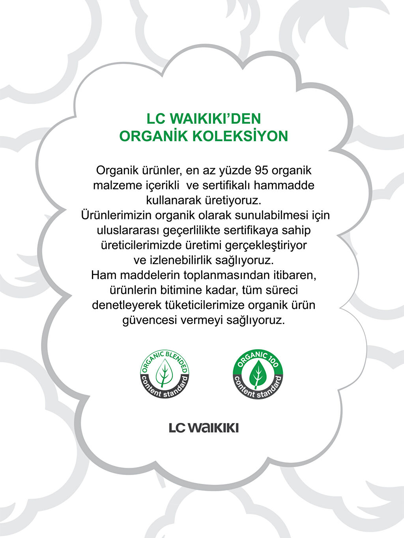 0SI510Z1 Organik Pamuklu Yenidoğan Patikli Alt 2'li