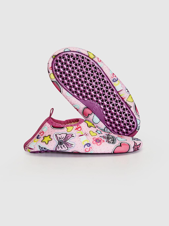 Kız Bebek Kız bebek Baskılı Deniz Ayakkabısı
