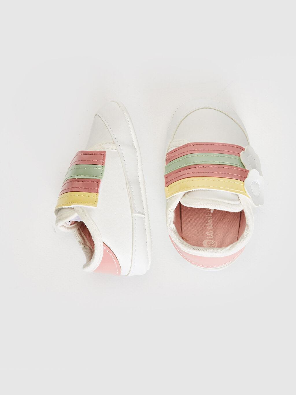 Kız Bebek Kız Bebek Cırt Cırtlı Yürüme Öncesi Ayakkabı