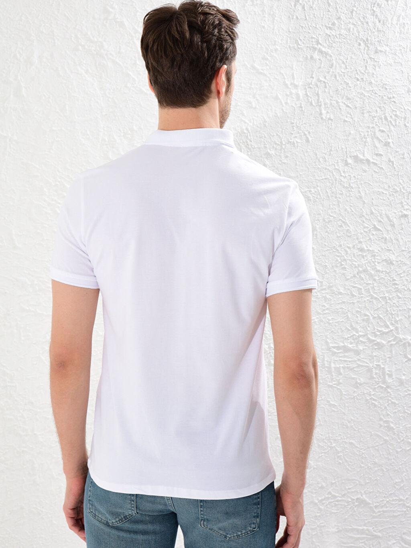 0SN597Z8 Polo Yaka Basic Tişört