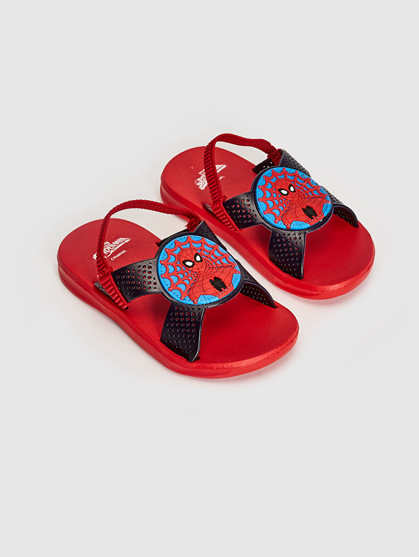 Kırmızı Erkek Çocuk Spiderman Lisanslı Sandalet 0SA653Z4 LC Waikiki