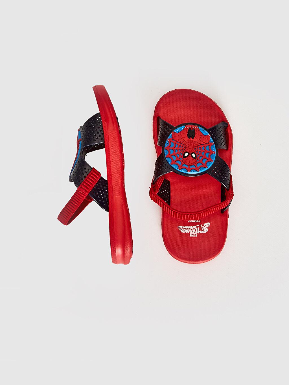 Erkek Çocuk Erkek Çocuk Spiderman Lisanslı Sandalet