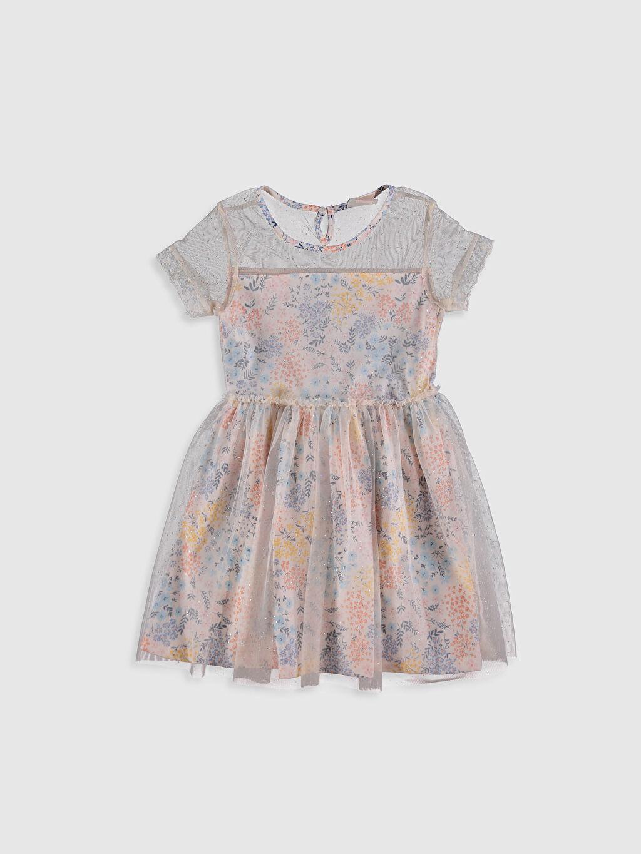 Pembe Kız Çocuk Tüllü Elbise 0SB881Z4 LC Waikiki
