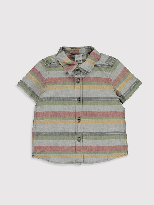 Çok Renkli Erkek Bebek Baskılı Gömlek 0SC493Z1 LC Waikiki