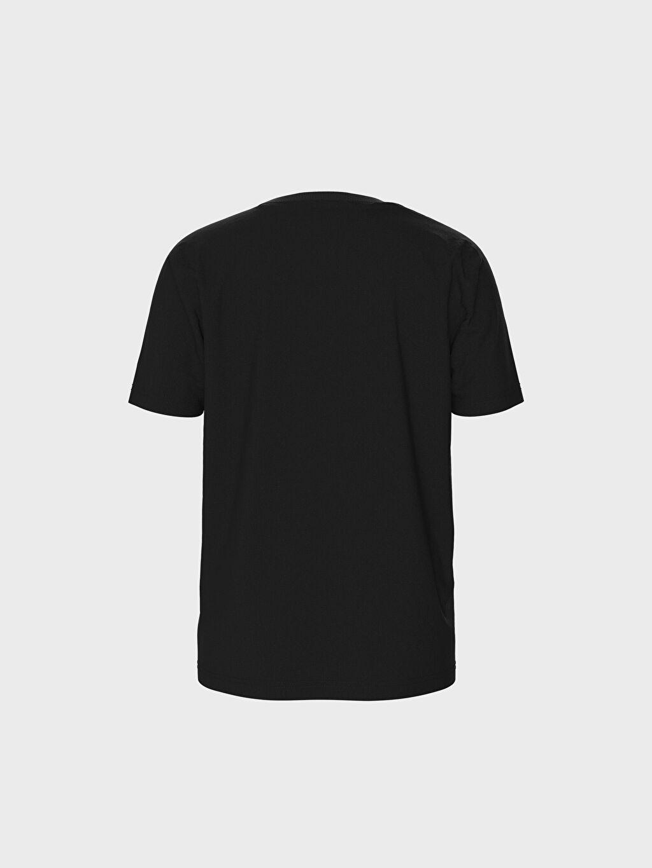 LC Waikiki Siyah Erkek Çocuk Jurassic World Baskılı Pamuklu Tişört