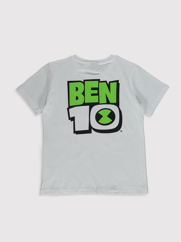 %100 Pamuk %100 Pamuk Standart Baskılı Tişört Ben 10 Bisiklet Yaka Kısa Kol Erkek Çocuk Ben 10 Baskılı Pamuklu Tişört