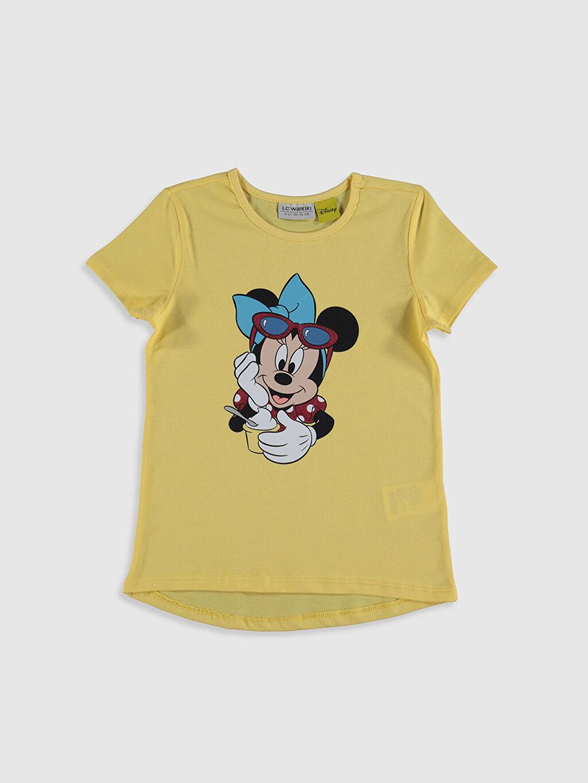 Kız Çocuk Kız Çocuk Minnie Mouse Baskılı Tişört 3'Lü
