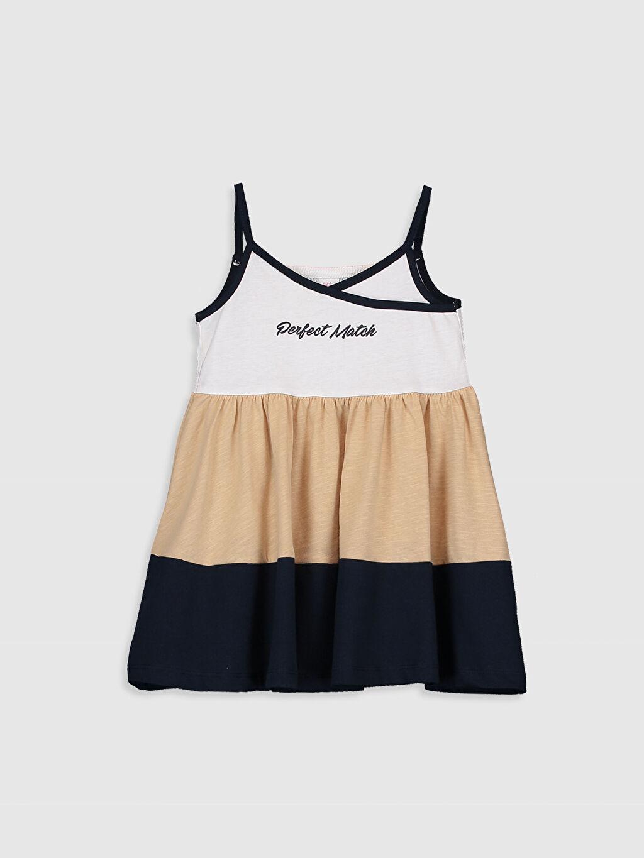 Ekru Kız Bebek Elbise 0SD998Z1 LC Waikiki