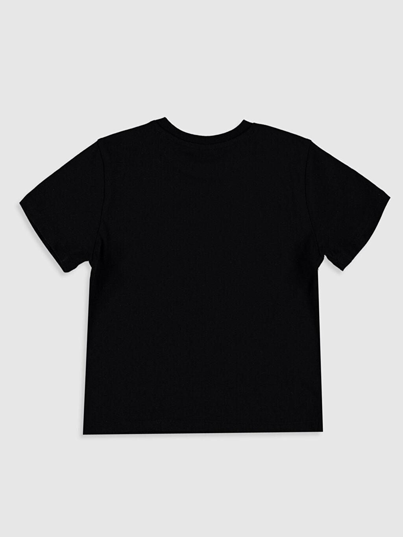 %100 Pamuk Tişört Bisiklet Yaka Kısa Kol Süprem Baskılı İnce Aile Koleksiyonu Erkek Bebek Yazı Baskılı Pamuklu Tişört