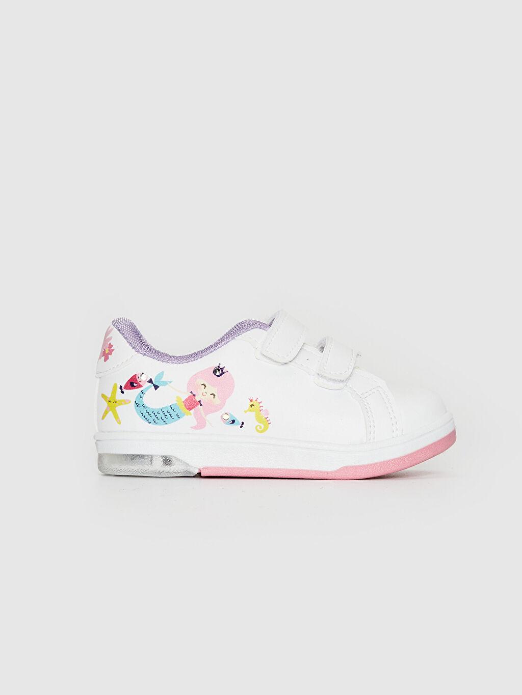 Beyaz Kız Bebek İşıklı Sneaker 0SE363Z1 LC Waikiki