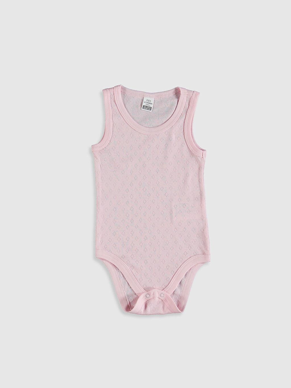 Pembe Kız Bebek Çıtçıtlı Body 0SP214Z1 LC Waikiki