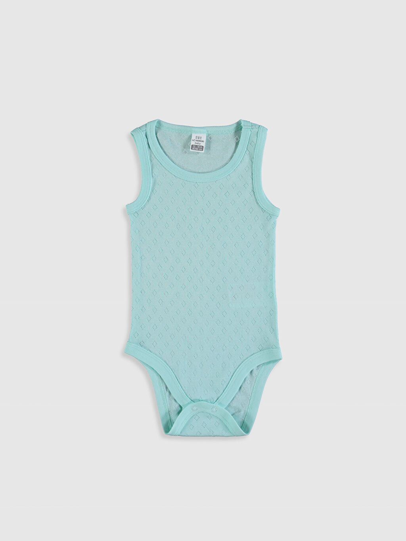 Yeşil Erkek Bebek Çıtçıtlı Body 0SP215Z1 LC Waikiki