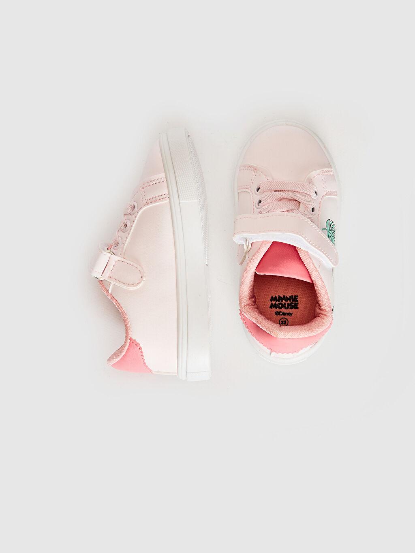 Kız Bebek Kız Bebek Minnie Mouse Baskılı Sneaker