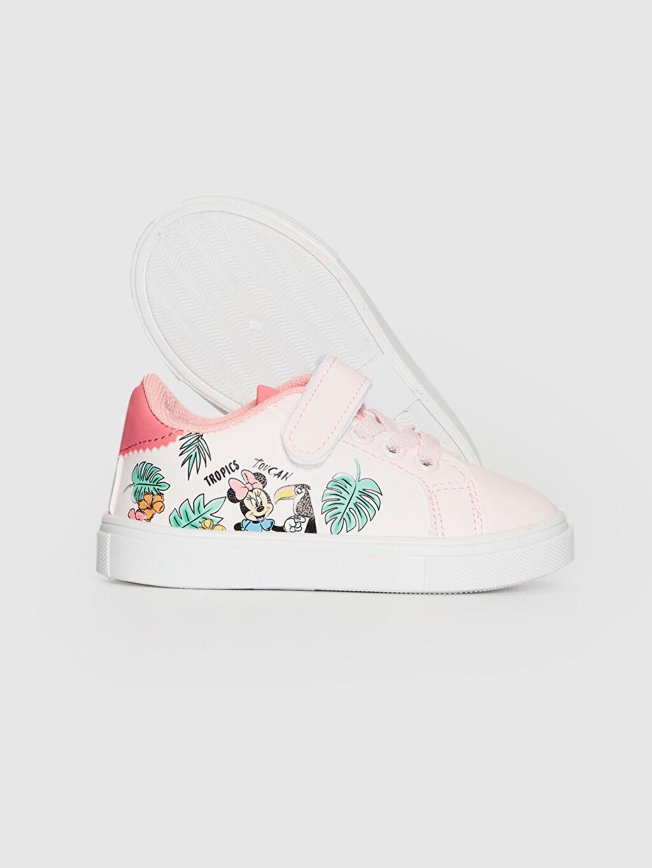 Kız Bebek Minnie Mouse Baskılı Sneaker