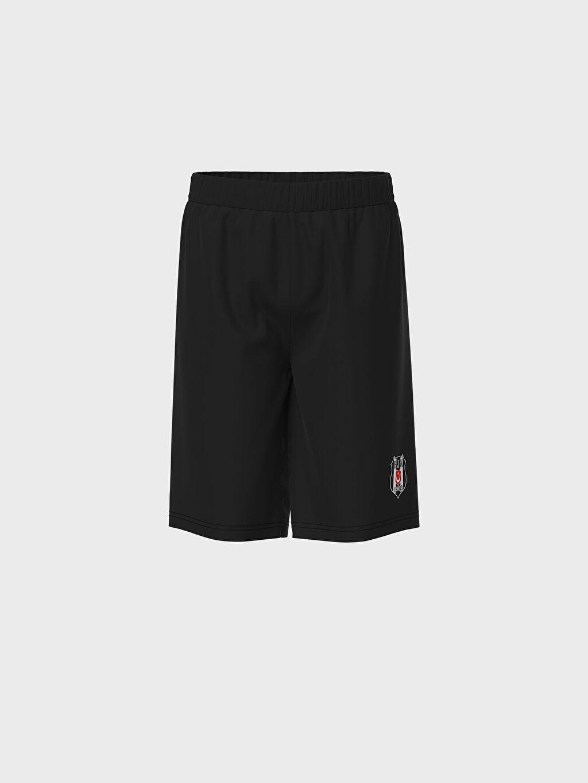 Erkek Çocuk Erkek Çocuk Beşiktaş Baskılı Pamuklu Pijama Takımı