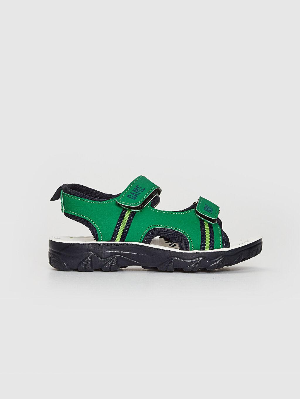 Diğer malzeme (pvc) Sandalet Cırt Cırt Işıksız Erkek Çocuk Cırt Cırtlı Sandalet