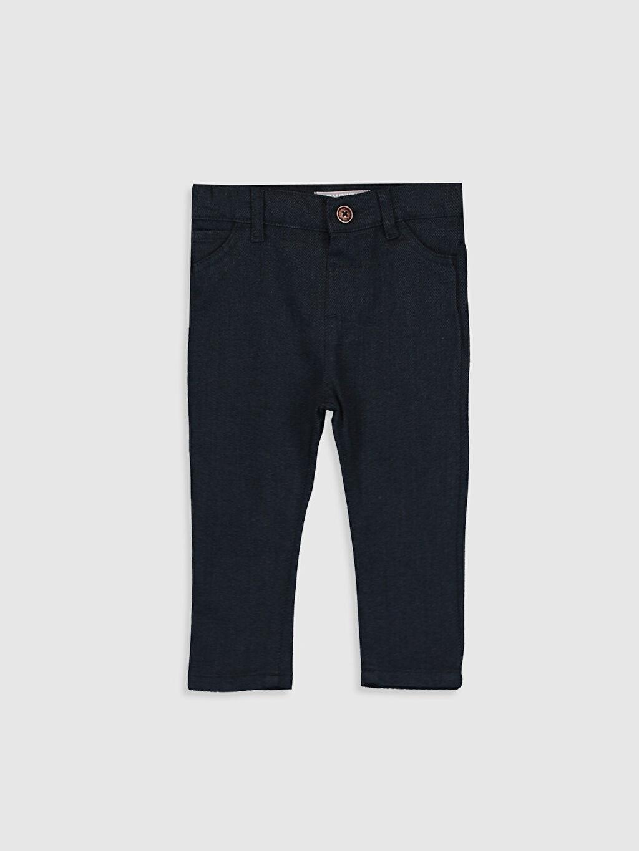 Lacivert Erkek Bebek Pamuklu Pantolon 0SQ605Z1 LC Waikiki