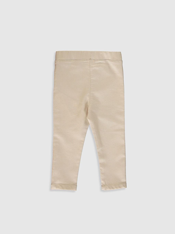 %61 Pamuk %34 Polyester %5 Elastan Pantolon Kız Bebek Basic Pantolon