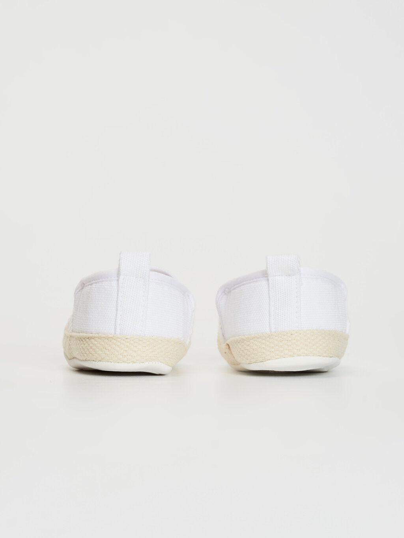0SR278Z1 Kız Bebek Dantel Detaylı Espadril Yürüme Öncesi Ayakkabı