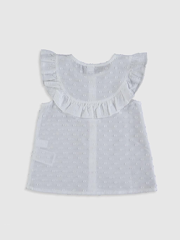%100 Pamuk Düz Gömlek Kısa Kol A Kesim Standart Smart Casual İnce Bisiklet Yaka Kız Bebek Pamuklu Gömlek
