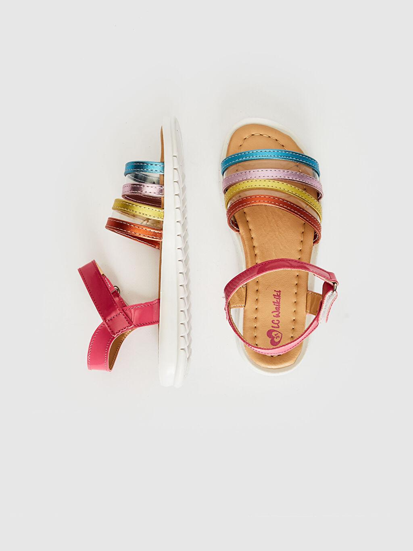 Kız Çocuk Kız Çocuk Renkli Şık Sandalet