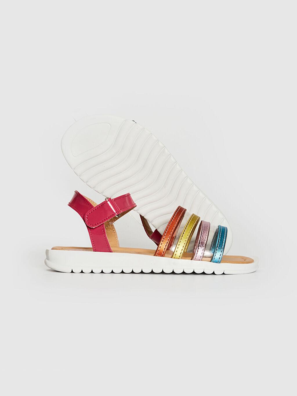 Kız Çocuk Renkli Şık Sandalet