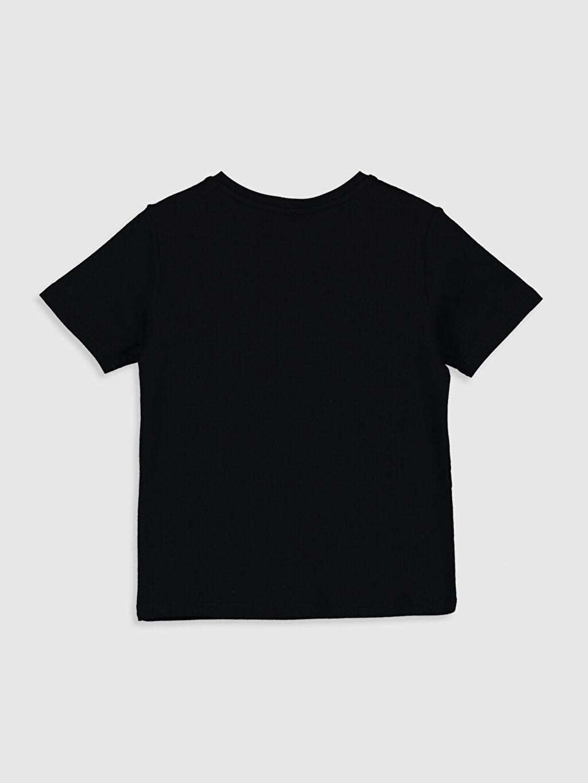 %100 Pamuk Süprem Standart Baskılı Tişört Bisiklet Yaka Kısa Kol Erkek Çocuk Yazı Baskılı Pamuklu Tişört