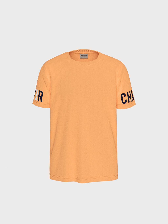 %100 Pamuk Erkek Çocuk Pamuklu Basic Tişört