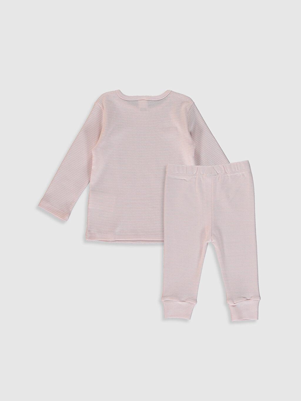 %100 Pamuk %100 Pamuk %100 Pamuk Orta Kalınlık Uzun Kol Süprem Pijama Takım Standart Kız Bebek Çizgili Pamuklu Pijama Takımı
