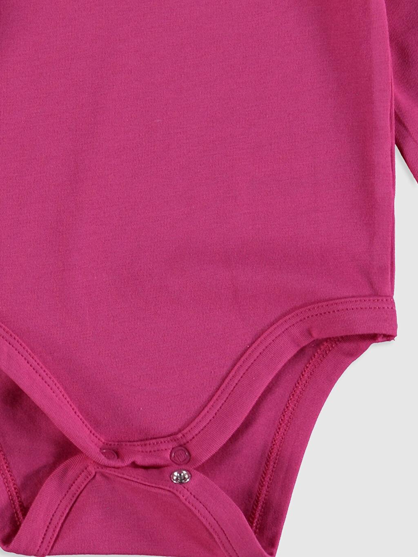 Sarı Kız Bebek Pamuklu Çıtçıtlı Body 2'li