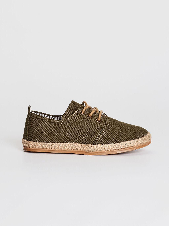 Işıksız Sneaker Bağcık Erkek Çocuk Espadril Ayakkabı