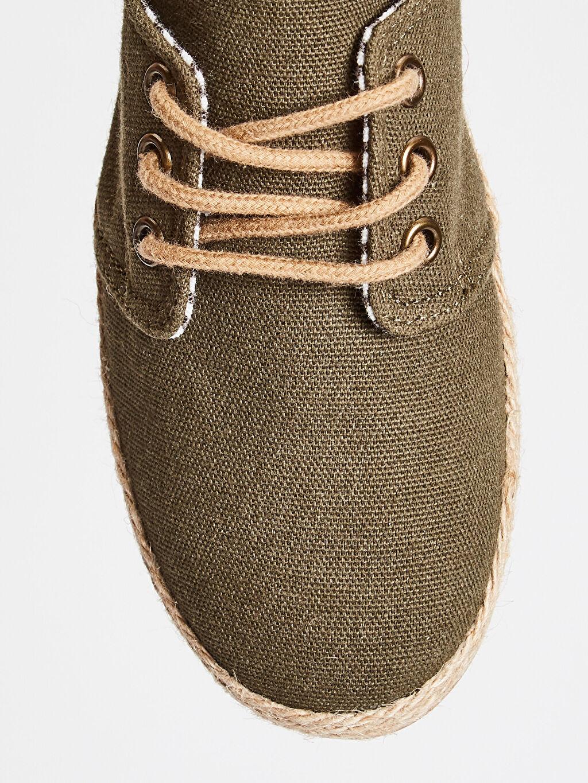 Haki Erkek Çocuk Espadril Ayakkabı