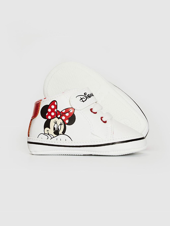 Kız Bebek Kız Bebek Minnie Mouse Lisanslı Yürüme Öncesi Ayakkabı