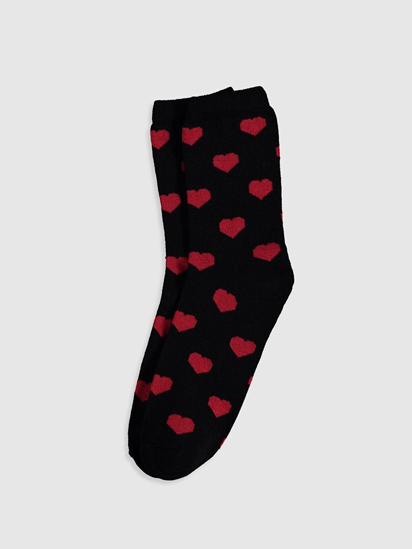 Kız Çocuk Anne Kız Soket Çorap 2'Li