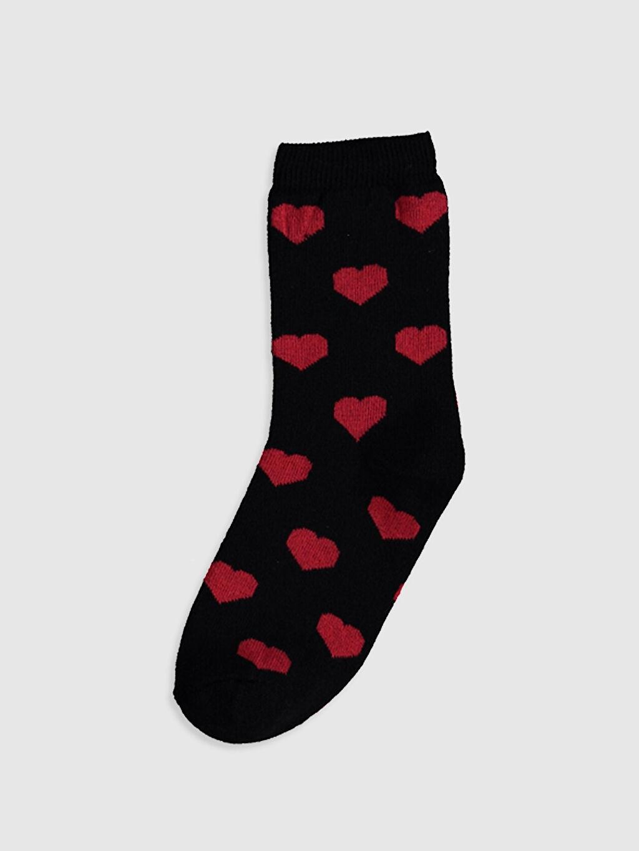 Anne Kız Soket Çorap 2'Li