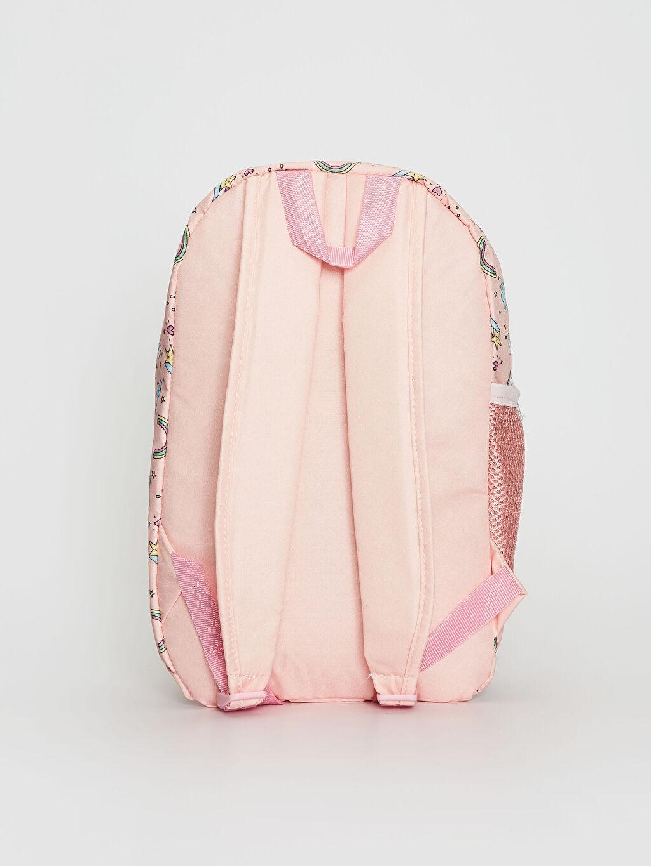 %100 Polyester %100 Polyester Günlük Çanta Sırt Çantası Kız Çocuk Baskılı Sırt Çantası