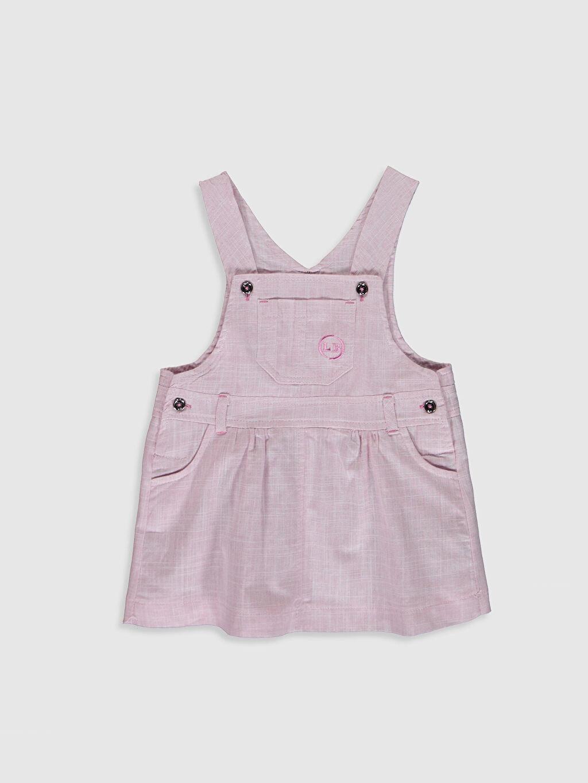 Kız Bebek Luggi Baby Yenidoğan Tişört ve Salopet