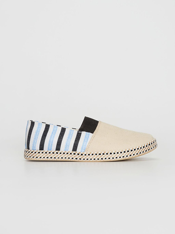 %0 Tekstil malzemeleri(%100 pamuk) Işıksız Bağcıksız Sneaker Erkek Çocuk Espadril Ayakkabı