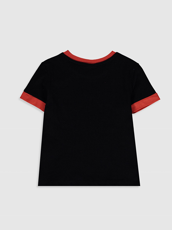 %100 Pamuk %100 Pamuk Baskılı Tişört Bisiklet Yaka Kısa Kol Standart Erkek Çocuk Baskılı Tişört