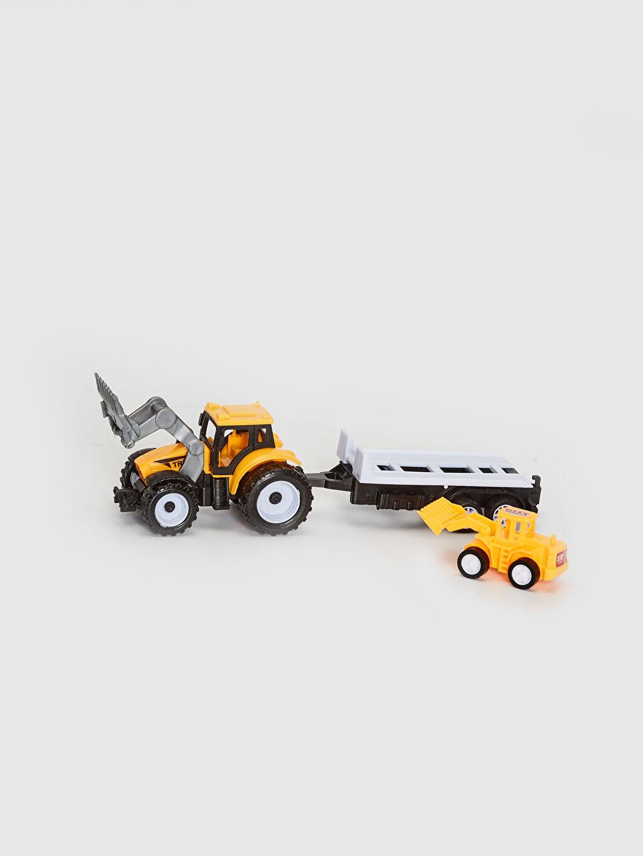 Erkek Çocuk Oyuncak Arabalı Traktör